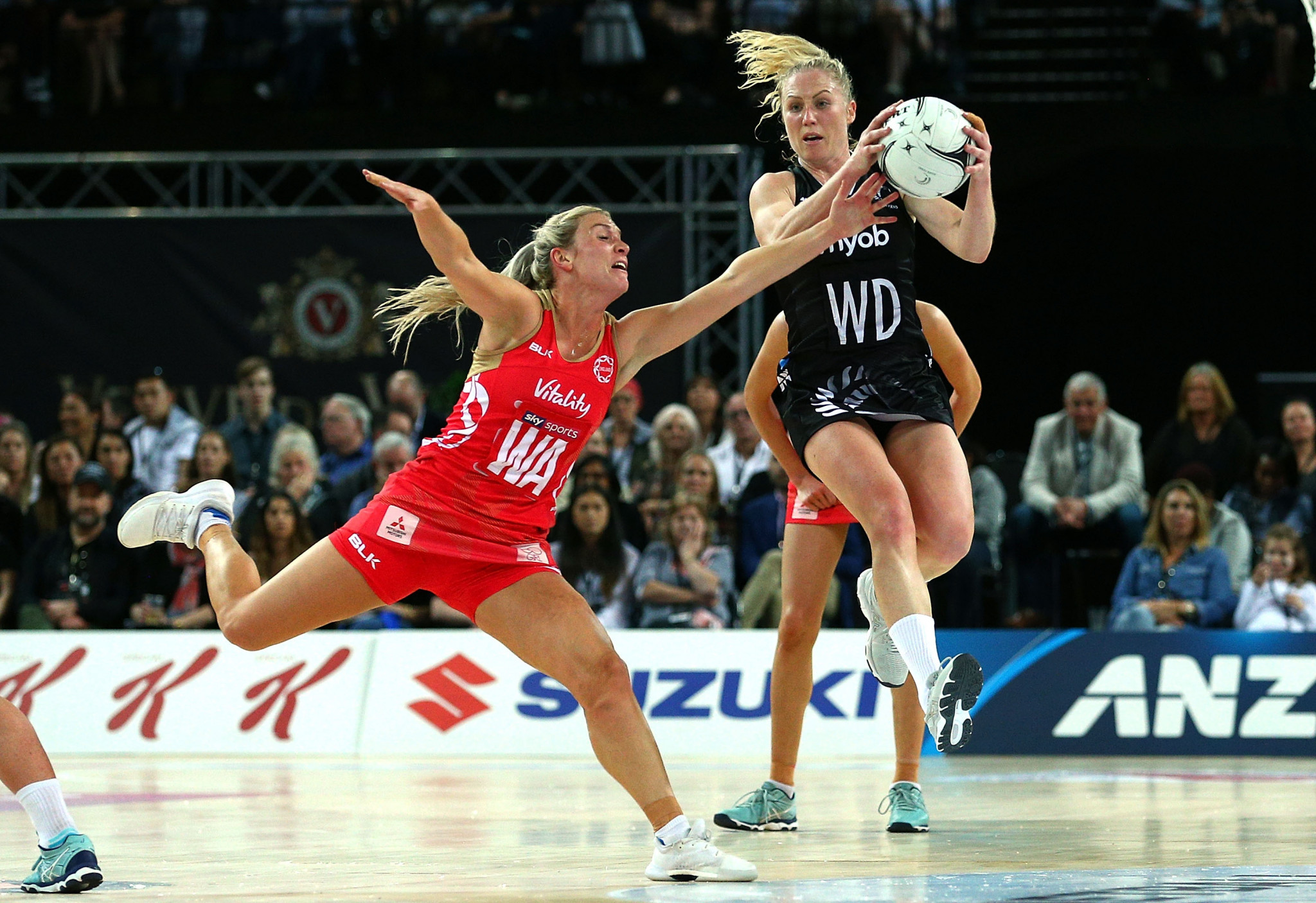 England and Australia win opening matches at Netball Quad Series