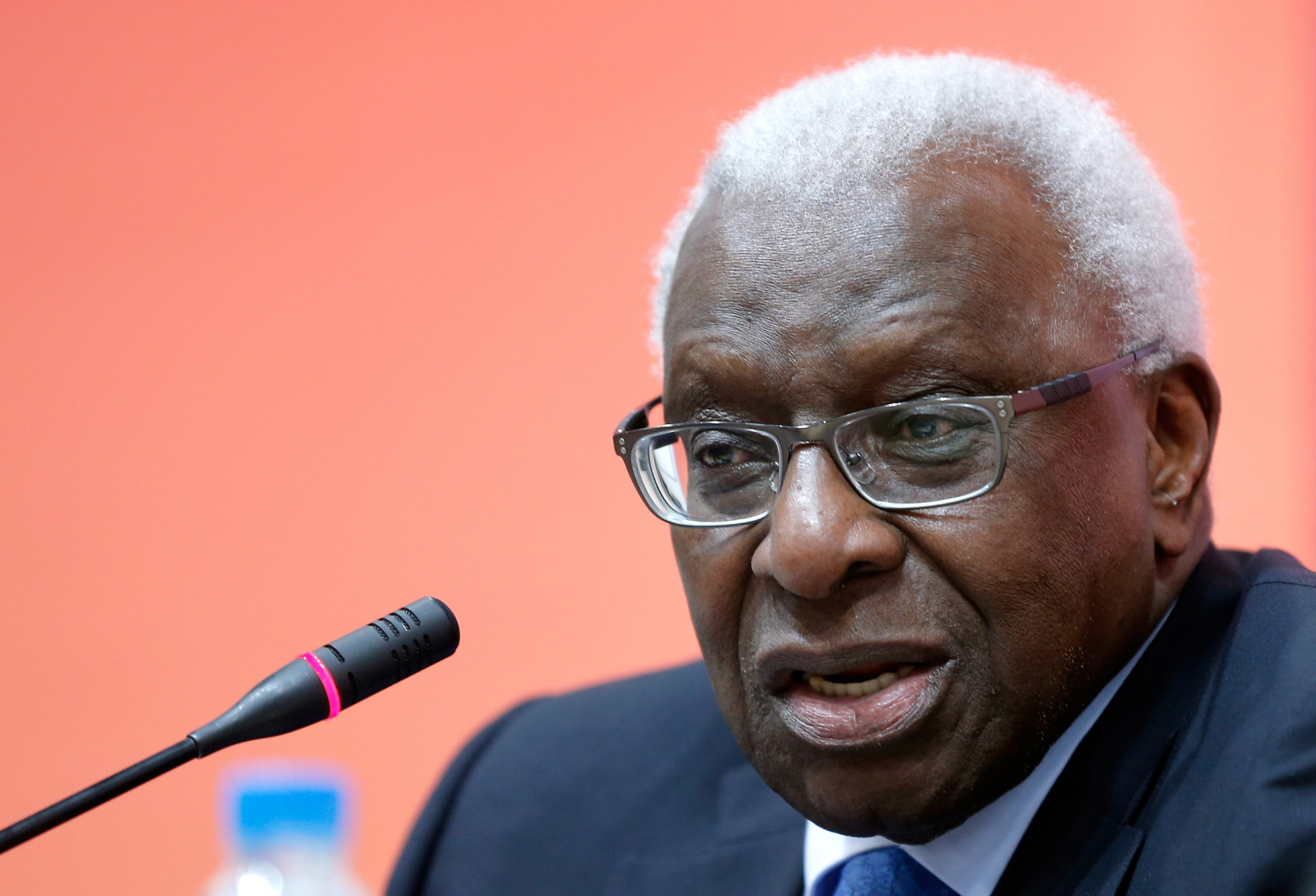 "Former IAAF  President Lamine Diack, who has already been charged with corruption and money laundering, is now under investigation for ""breach of trust"" ©Getty Images"