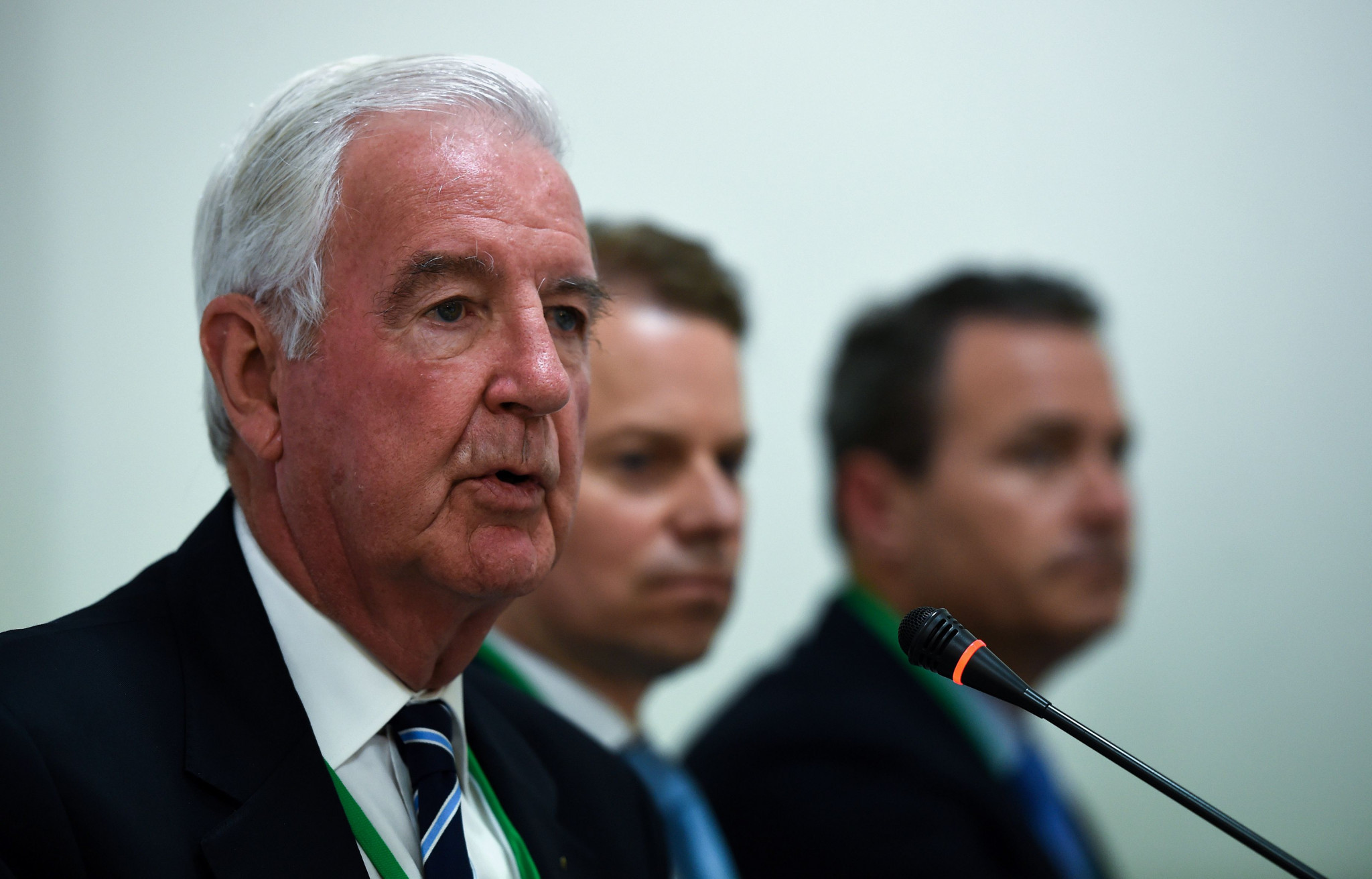 WADA President Sir Craig Reedie has defended the compromise ©Getty Images
