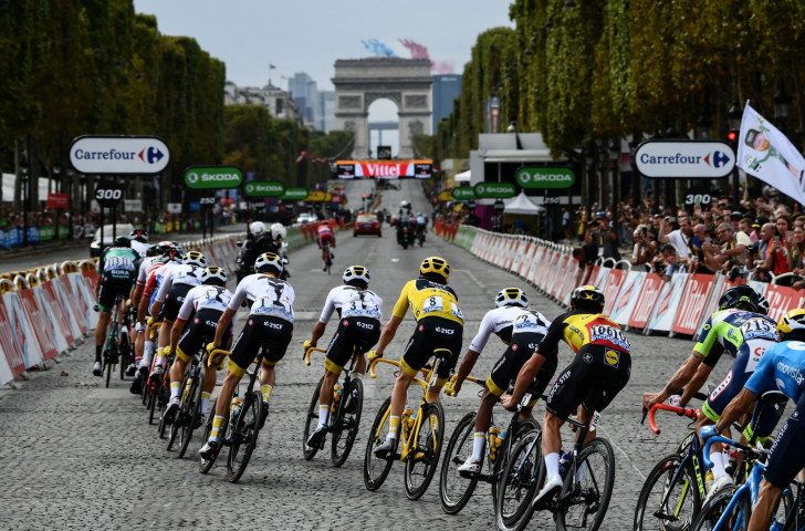 UCI President David Lappartient's plans could reduce numbers in Grand Tour events such as the Tour de France ©Getty Images