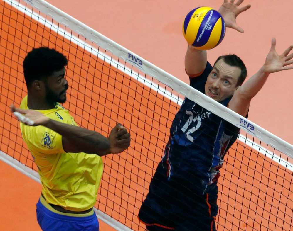 Brazil suffer first defeat at Volleyball Men's World Championship as Dutch spring surprise