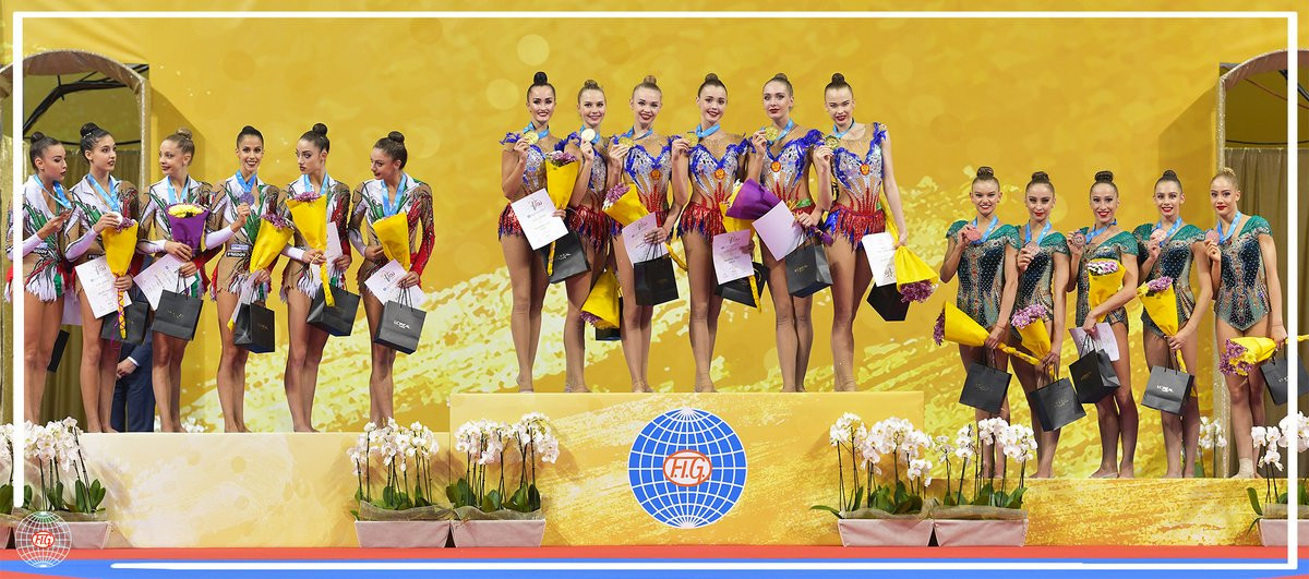 Russia win group all-around title at Rhythmic Gymnastics World Championships to clinch Olympic qualification