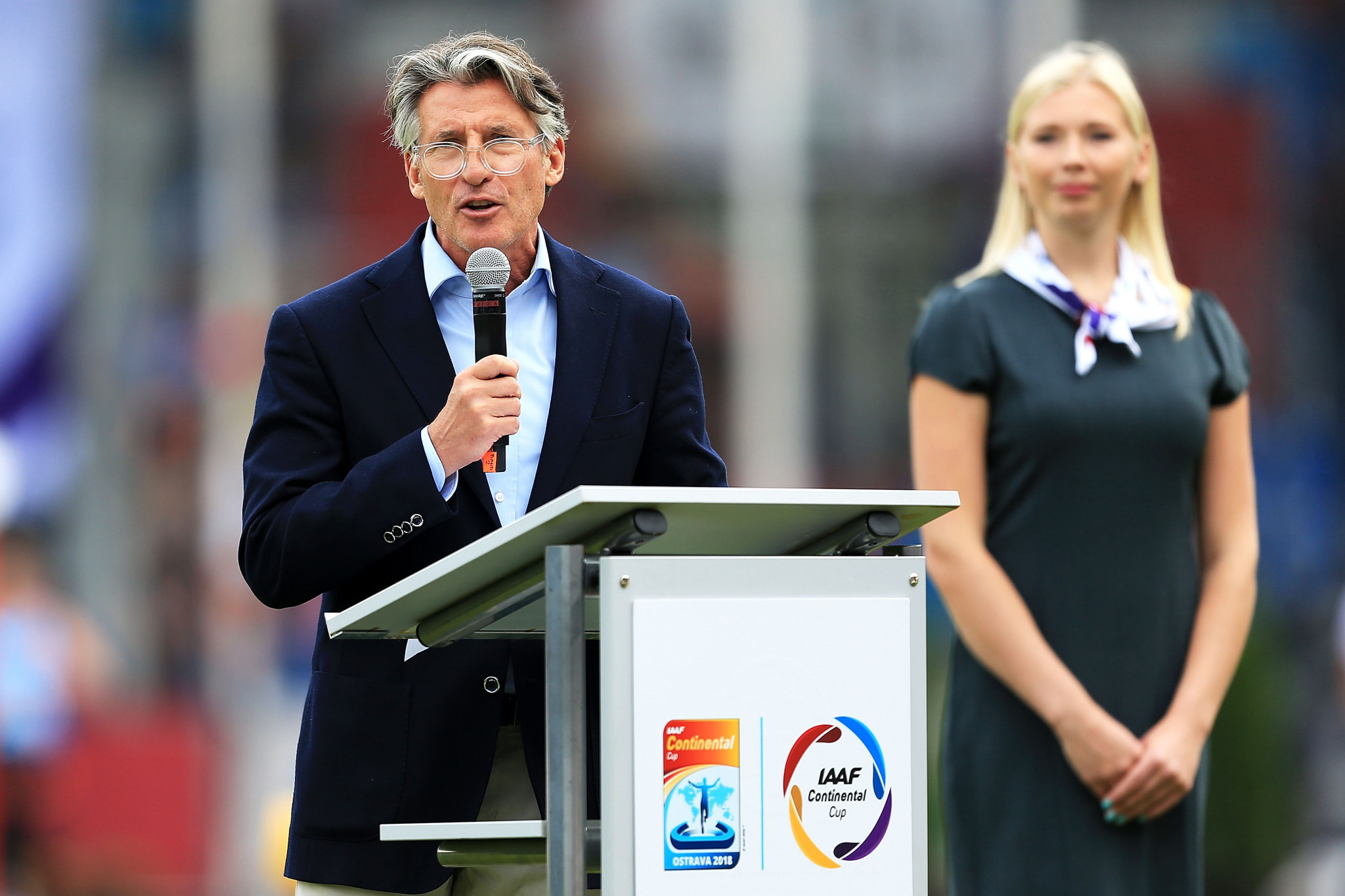 IAAF President Sebastian Coe hopes the Youth Olympics will provide a step towards cross-country being included in the full Olympic programme ©Getty Images