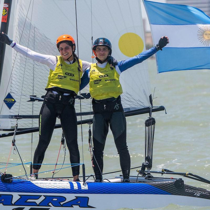 Youth sailing world champion named Argentina's flagbearer for Buenos Aires 2018 Opening Ceremony