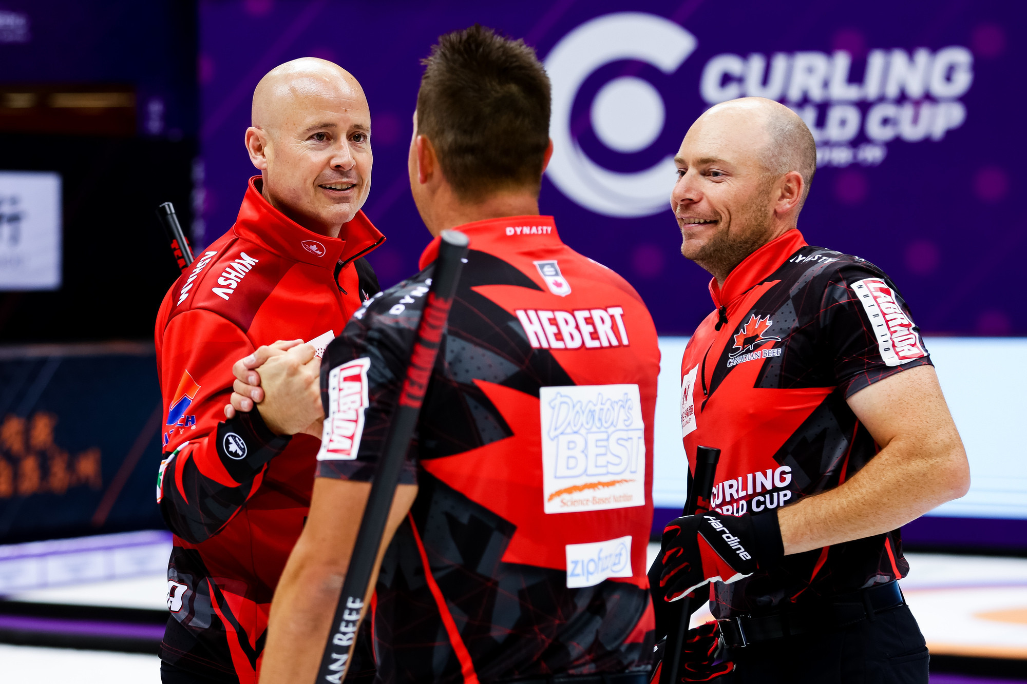 Clean sweep of golds at Curling World Cup in Suzhou earns Canada three Grand Final places