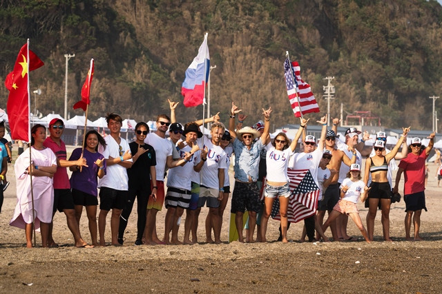 Aguerre re-elected to serve ninth term as International Surfing Association President