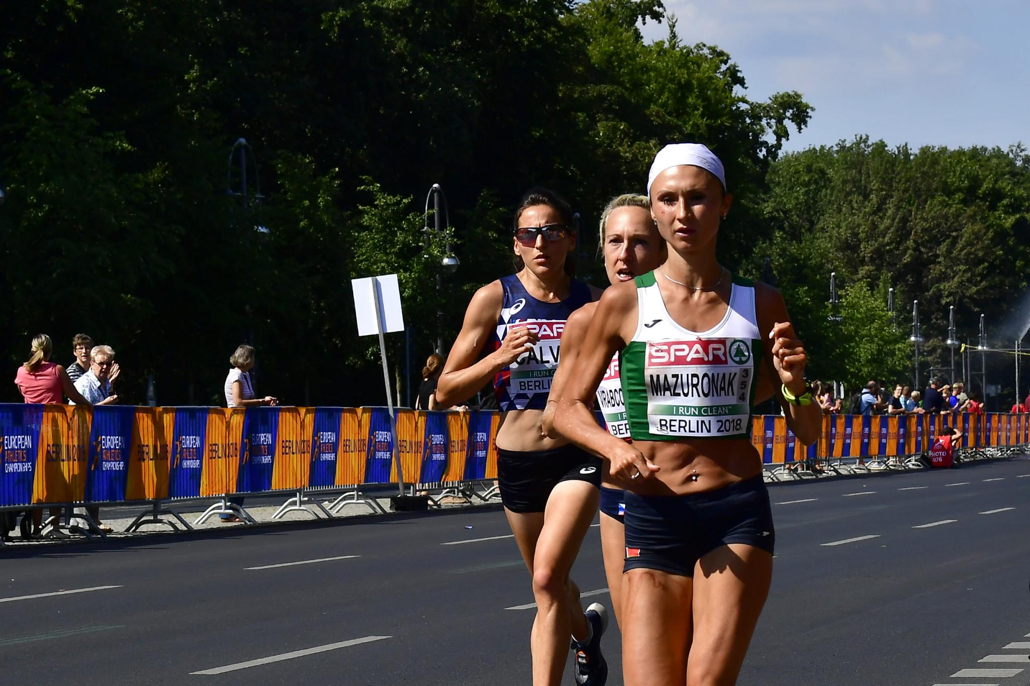 European marathon champion Volha Mazuronak has become the latest Minsk 2019 ambassador ©Getty Images
