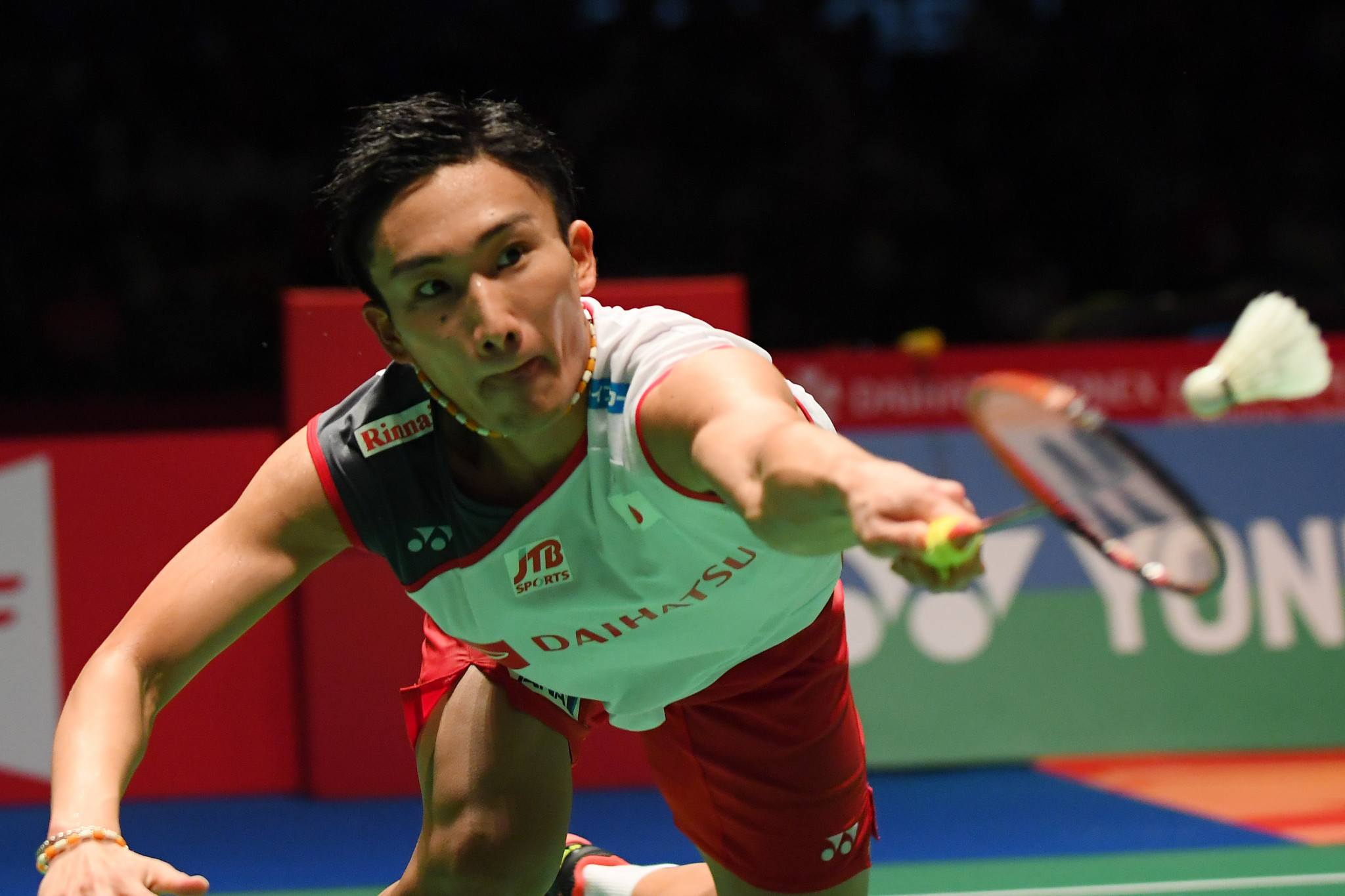 World champion Momota makes history as first home winner of men's title at BWF Japan Open