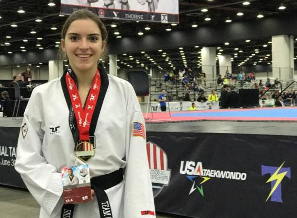 Para-taekwondo athlete Salinaro eyeing Paralympic success against the odds
