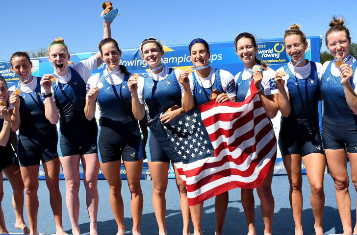 US women's eight back on gold standard as Ireland's Puspure wins women's single sculls at World Rowing Championships