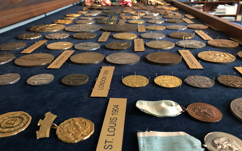 USOC receive donation of one of world's largest Olympic artifact collections