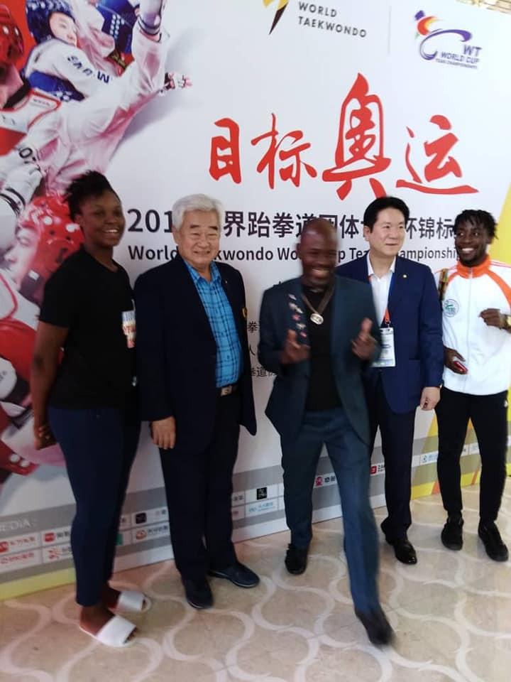 World Taekwondo President pays tribute to Ivory Coast team mascot