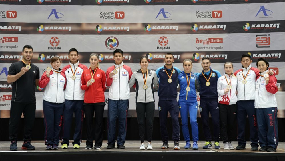 Grand winners dominate on final day of action at Karate 1-Premier League in Berlin