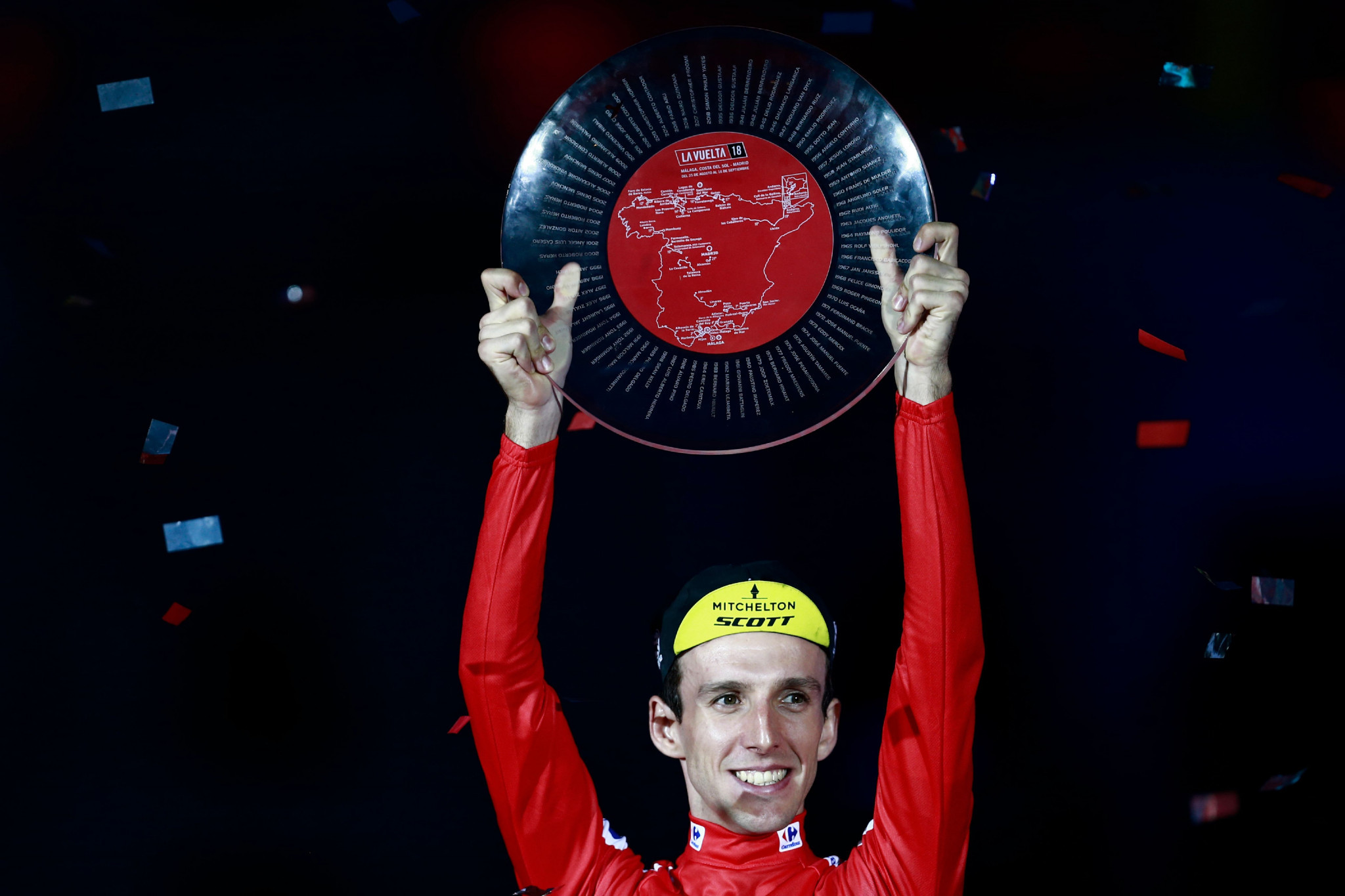 Yates confirmed as Vuelta a España winner to continue British Grand Tour domination