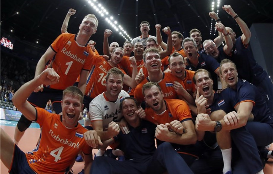 The Netherlands win thriller against France at Volleyball Men's World Championship