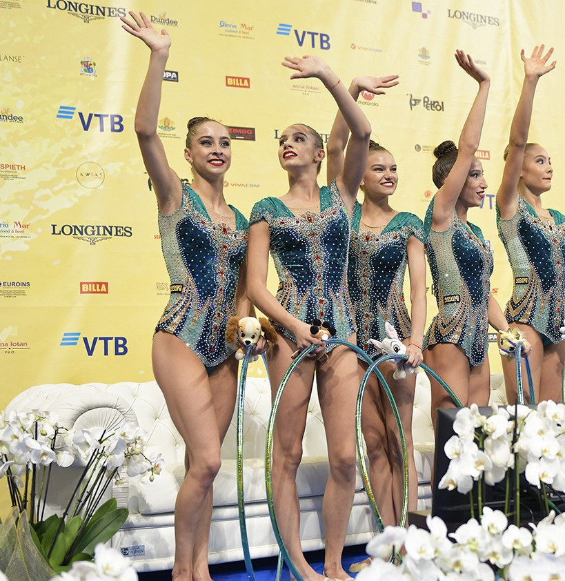 Bulgaria and Italy end Russian dominance on final day of Rhythmic Gymnastics World Championships