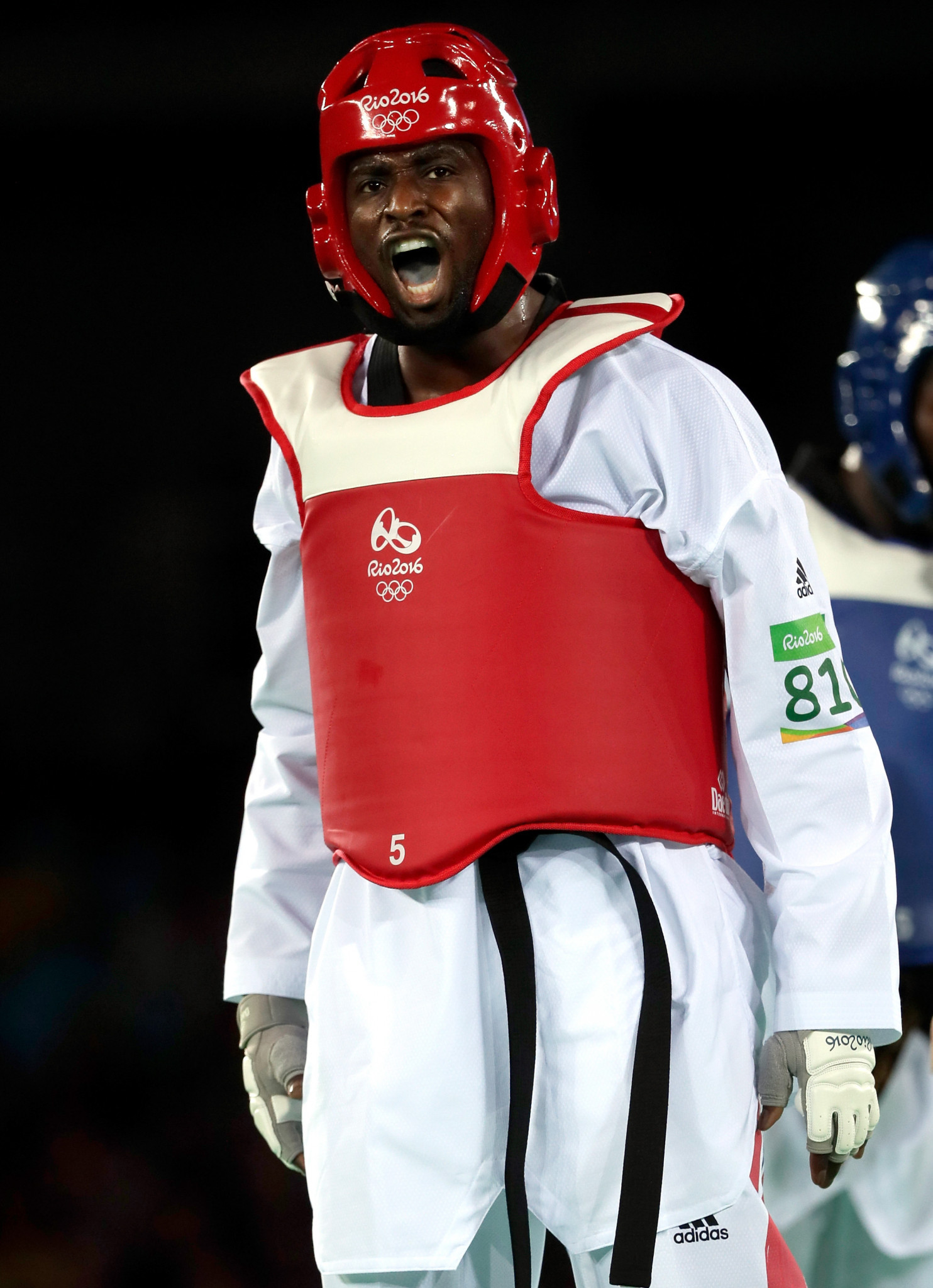 Britain's taekwondo Olympian Mahama Cho, one of eight nominees for the first National Lottery Athlete of the Year prize, has chosen a Manchester refugee project to benefit from the £5,000 if he wins ©Getty Images