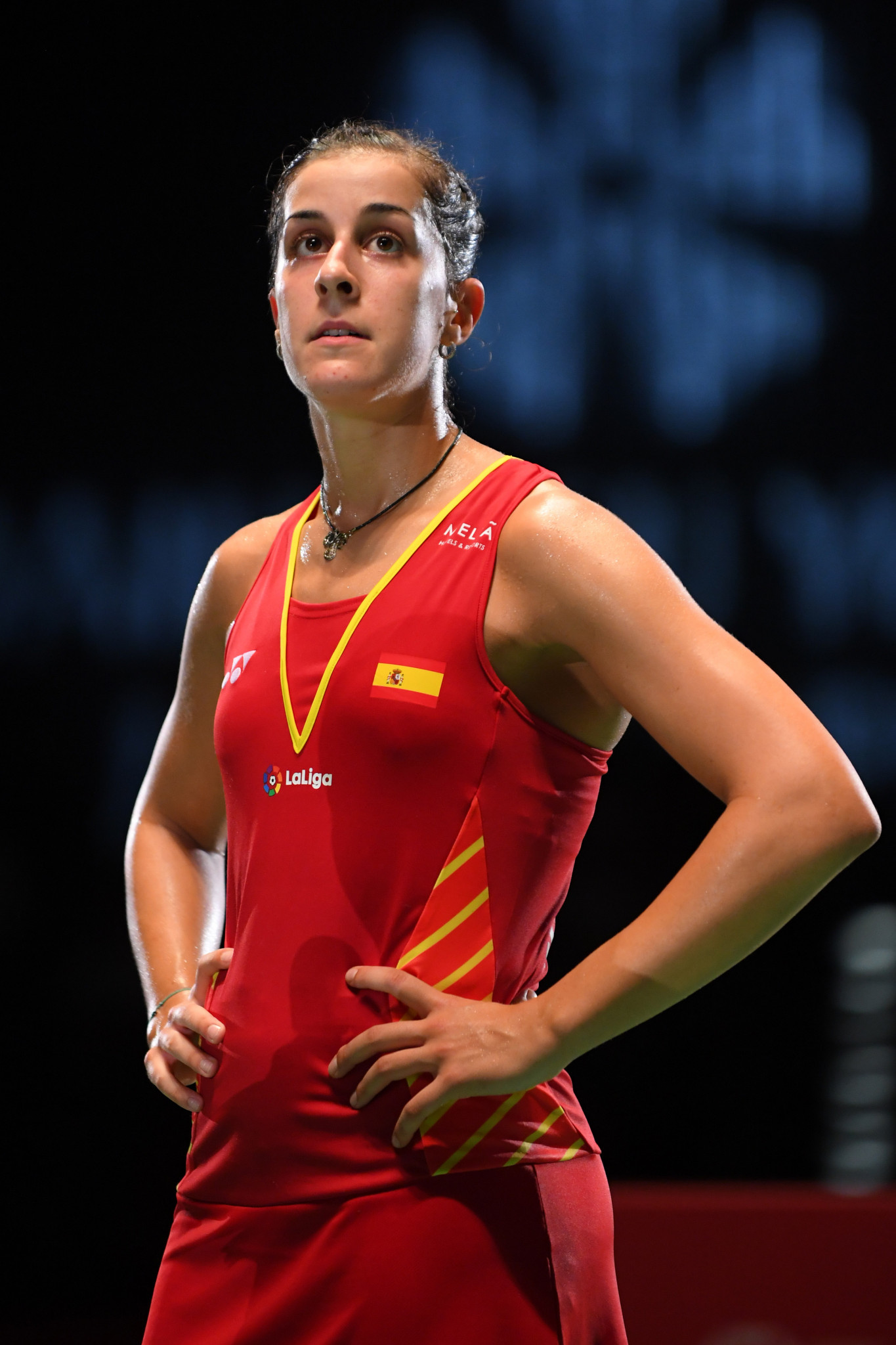 Carolina Marin will be the player to stop in the women's draw ©Getty Images