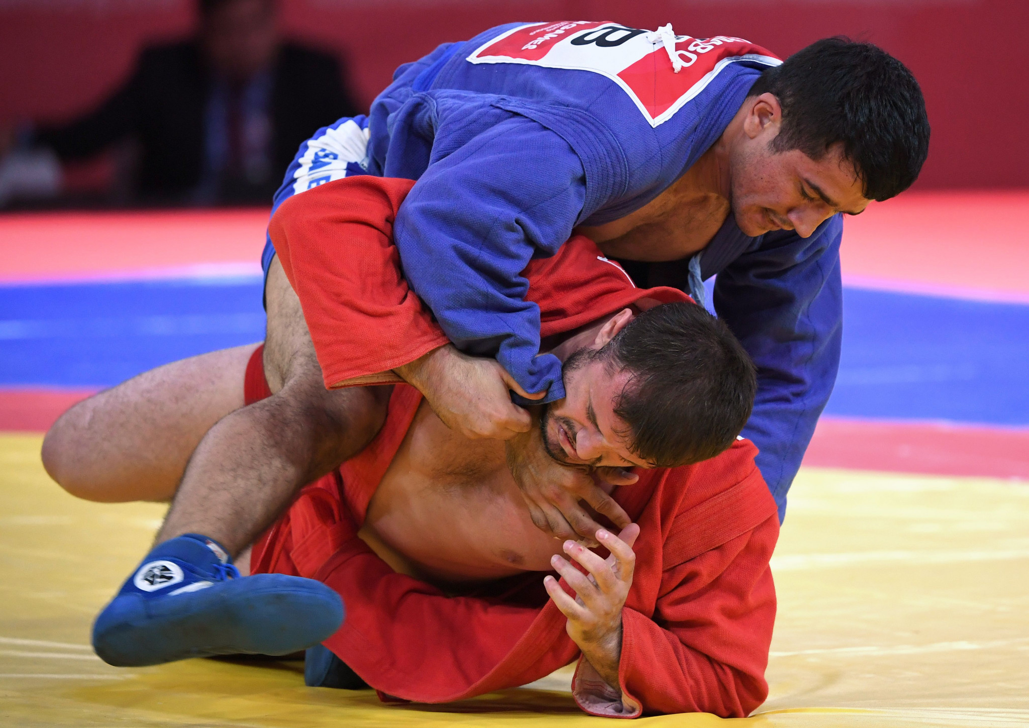 Sambo featured at the Asian Games, the world's second largest multi-sport event, for the first time this year  ©FIAS