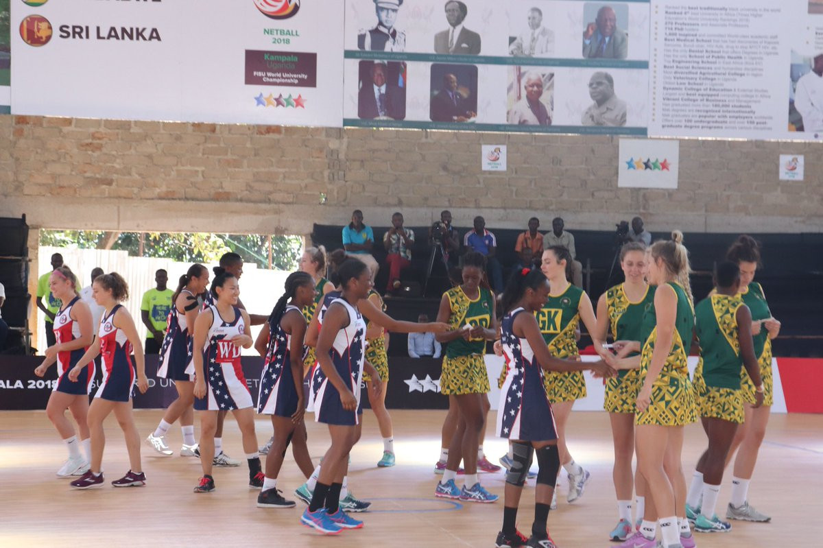 South Africa thrash United States on opening day of World University Netball Championship
