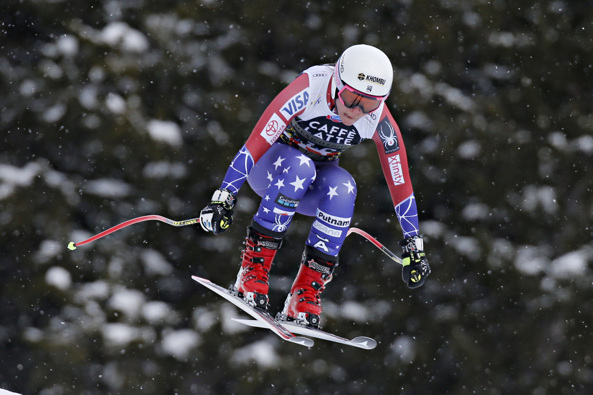 US downhill skier Johnson suffers serious knee injury during training camp in Chile