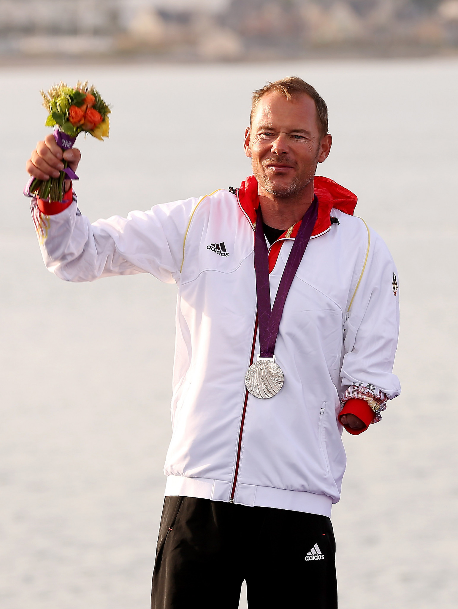 Germany's Heiko Kroger, who won Paralympic gold in 2000, picked up silver at London 2012 ©Getty Images