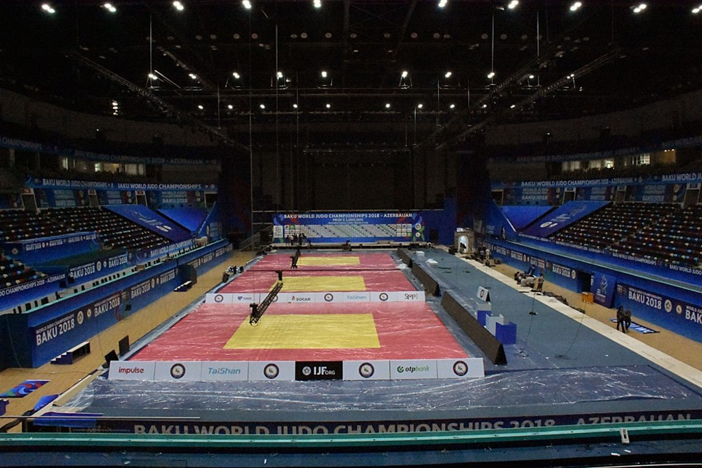 Michael Bigoszewski's death comes just before the start of the 2018 World Judo Championships in Baku ©IJF
