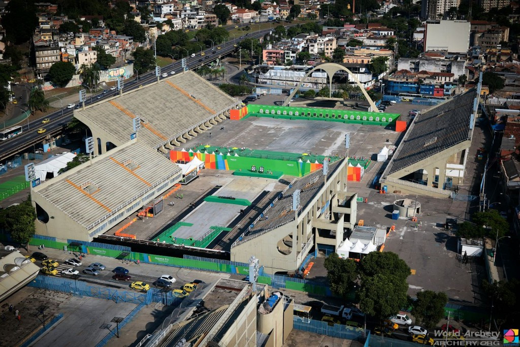 Sambodromo has potential to be one of Rio 2016's best venues claim World Archery