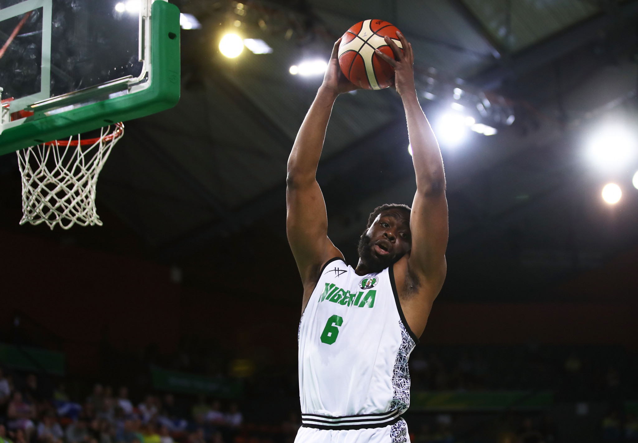 Nigeria qualified for the FIBA World Cup after beating Central African Republic 114-69 ©Getty Images