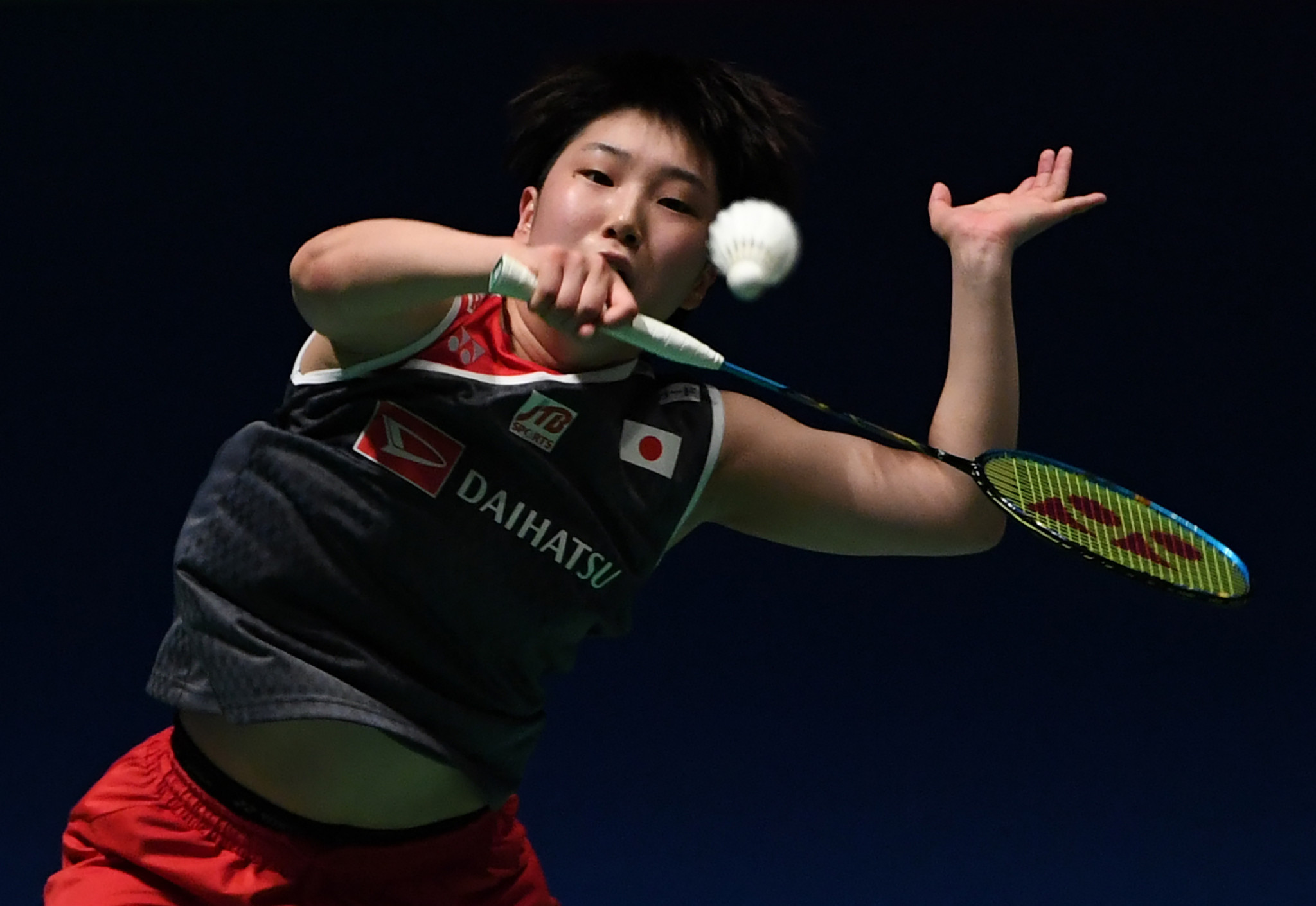 Defending champion Akane Yamaguchi negotiated round one ©Getty Images