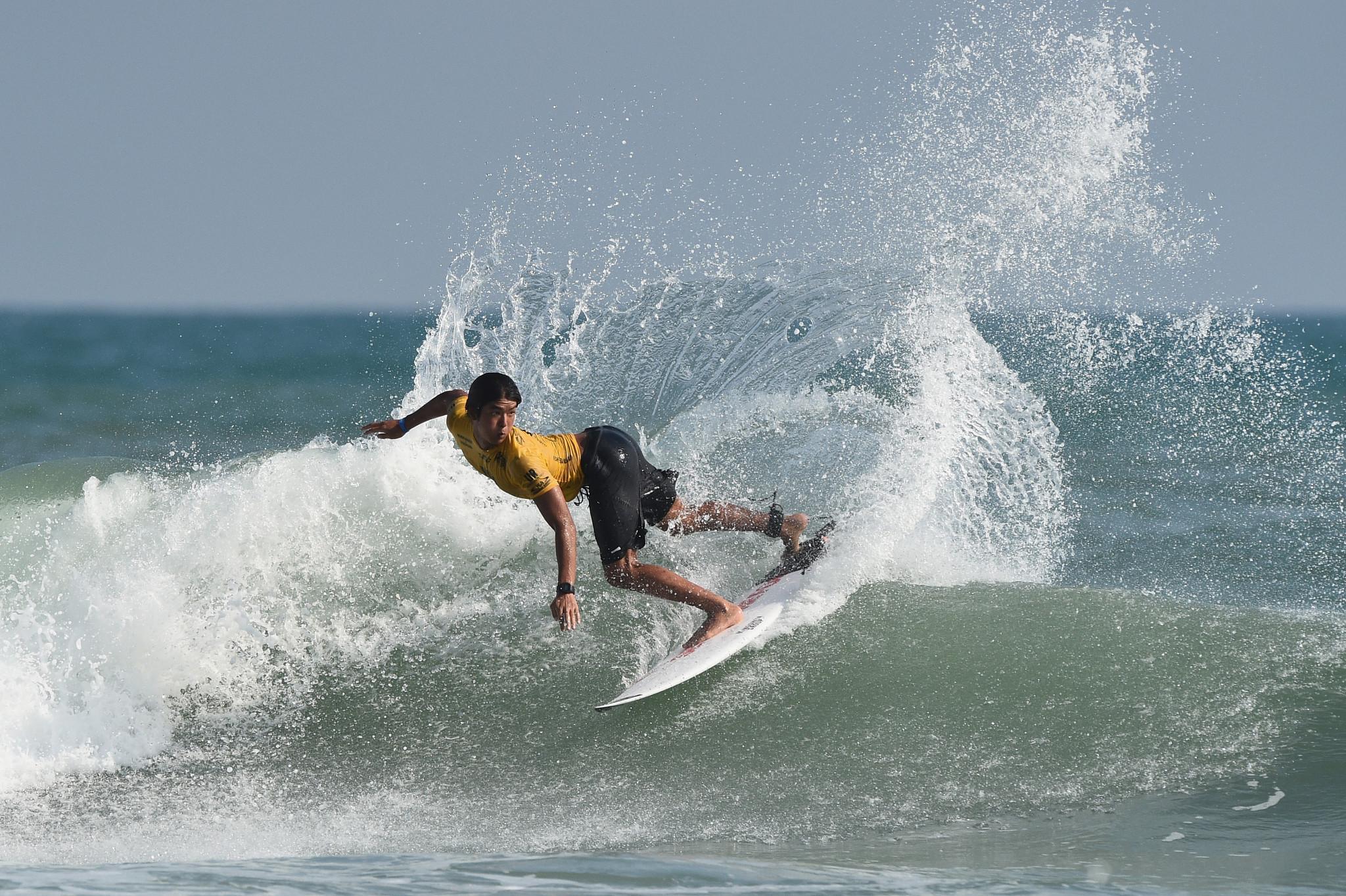 Japan guaranteed first ever individual medal at ISA World Surfing Games