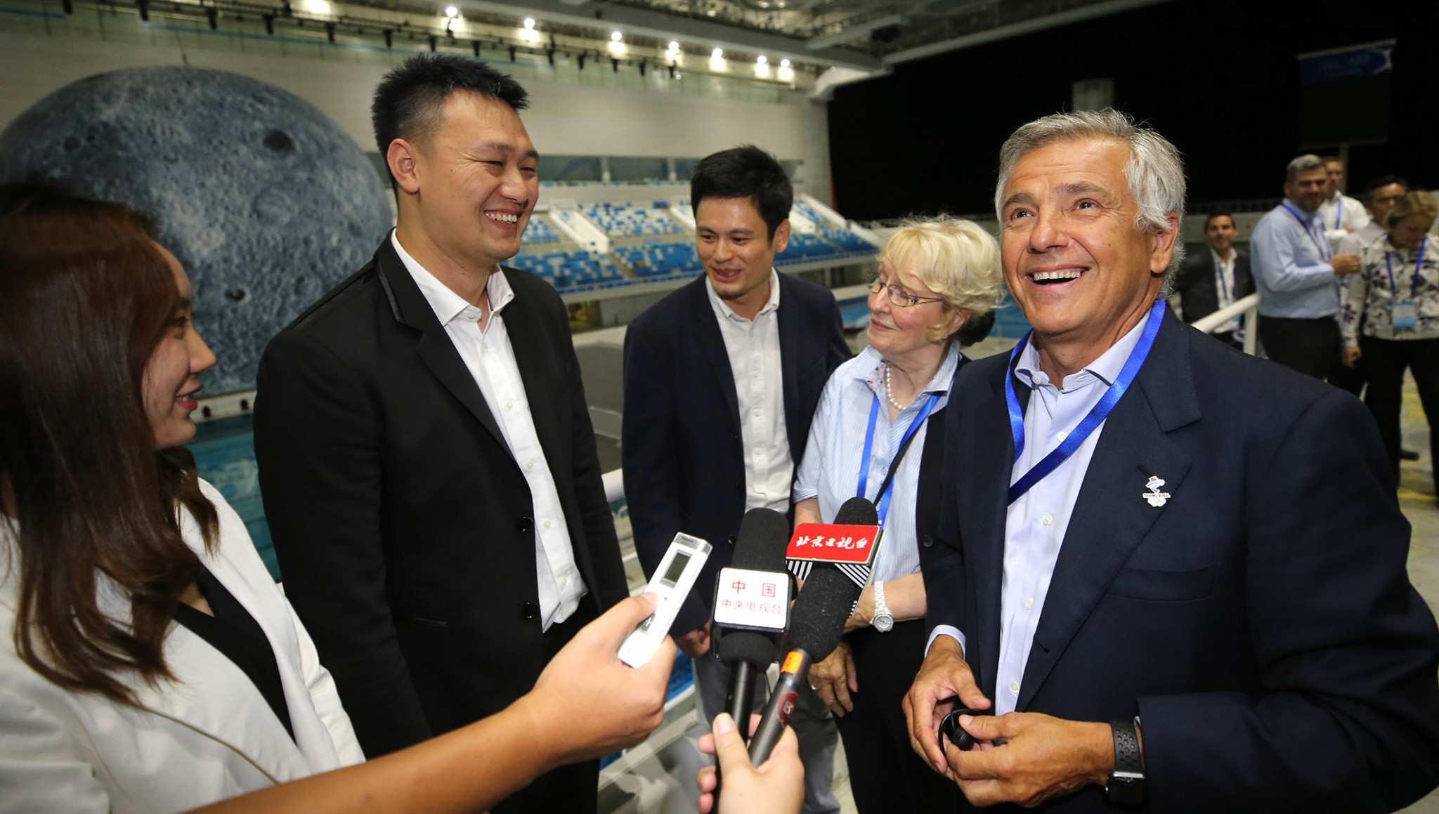 Coordination Commission chair Juan Antonio Samaranch claimed he was very confident in Beijing 2022's preparations ©IOC