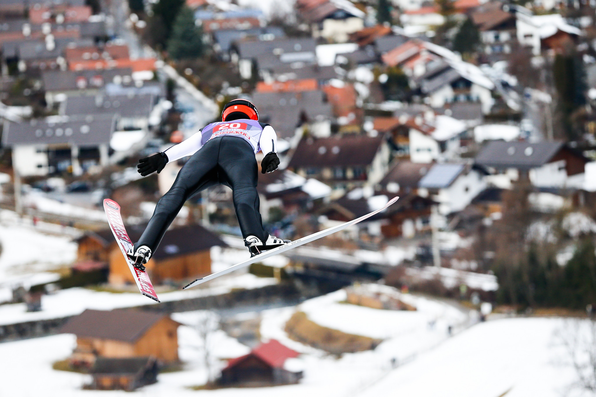 Hans Ostler was heavily involved with the Four Hills tournament ©Getty Images