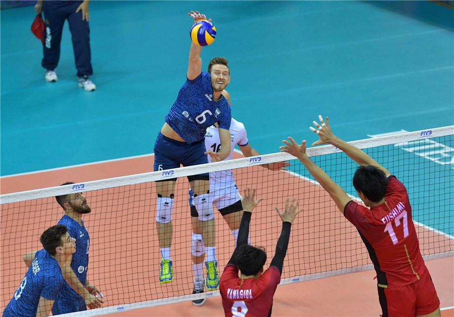 Japan victory in vain at Volleyball Men's World Championships