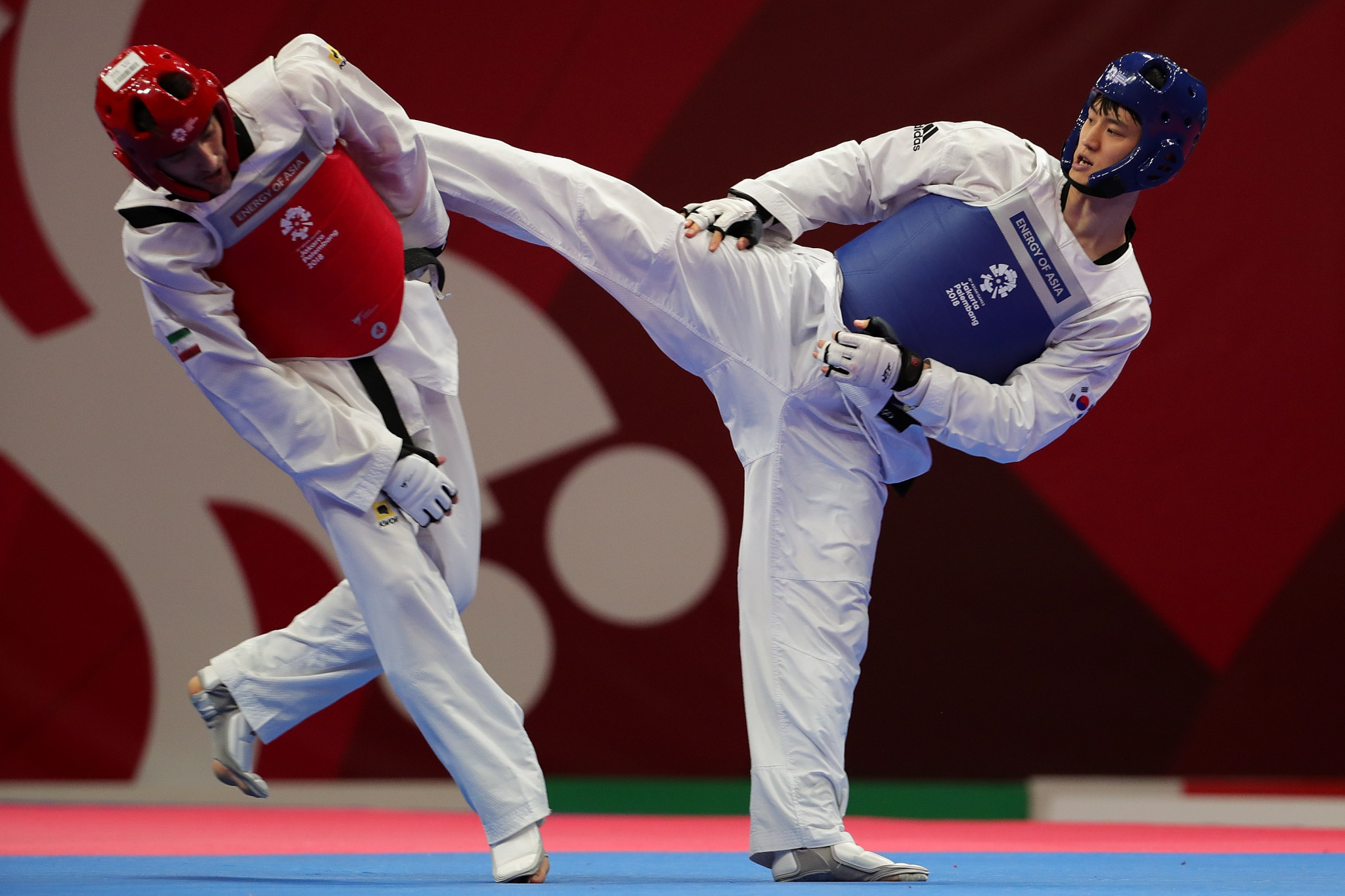 World champion Lee Dae Hoon was one of three winners on the opening day of the World Taekwondo Grand Prix in Taoyuan in Chinese Taipei ©Getty Images