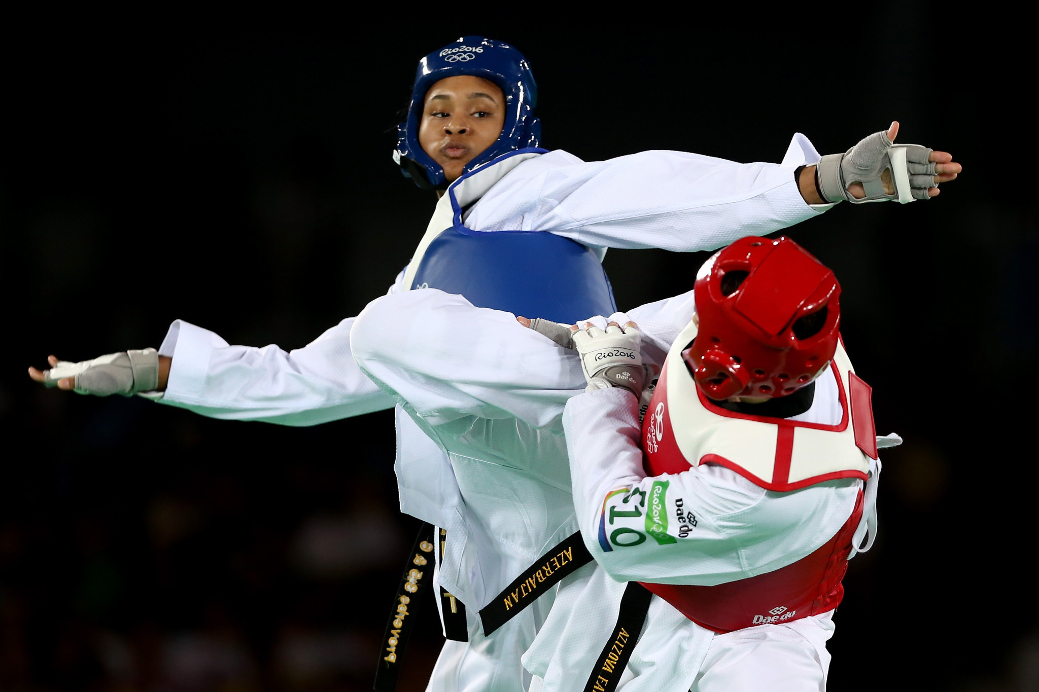 The United States' Paige McPherson came out on top in the women's under-67 kilograms category ©Getty Images