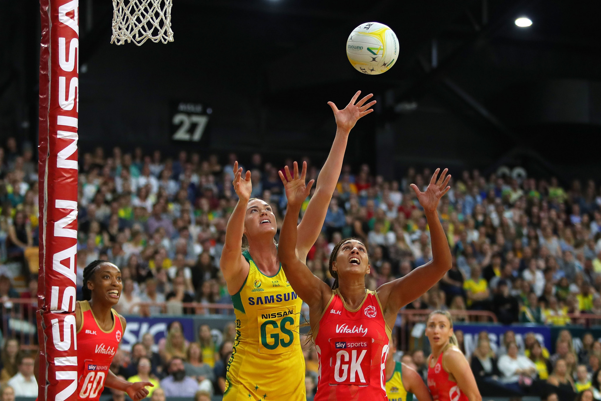 Australia beat England in repeat of Commonwealth Games final at Netball Quad Series