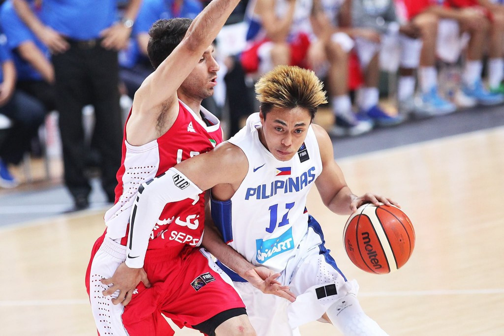 Philippines earn win over Iran on penultimate day of group matches at FIBA Asia Championship