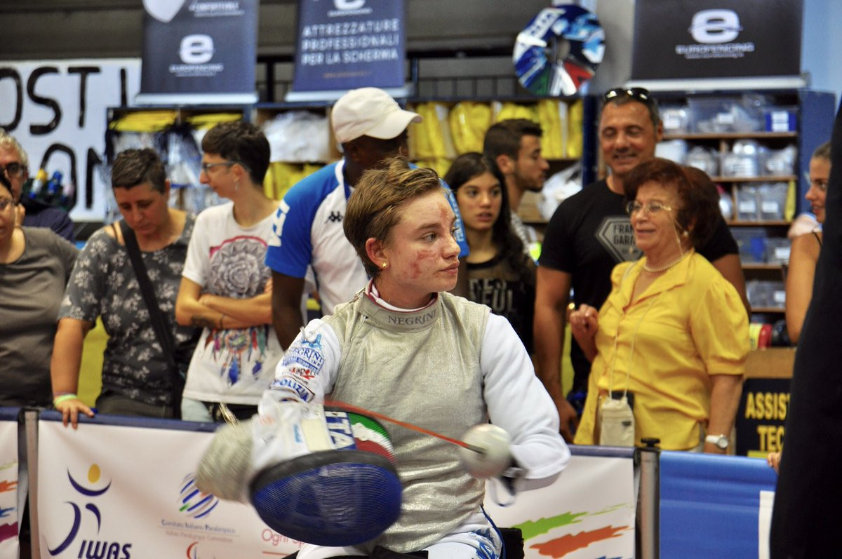 Vio wins third consecutive IWAS Wheelchair Fencing European title before home crowd