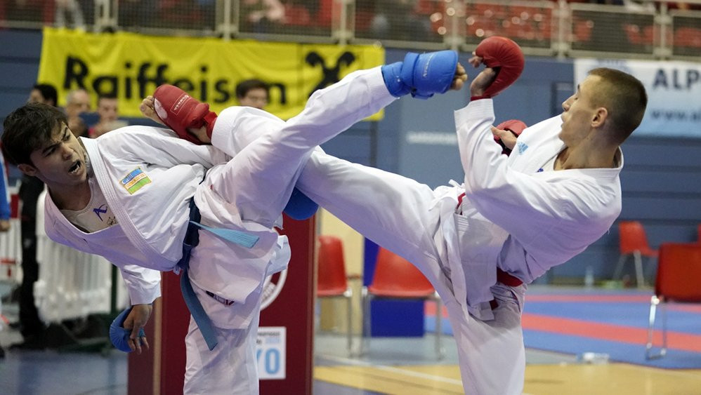 The most recent leg of the Karate 1-Series A was held in Salzburg in March ©WKF