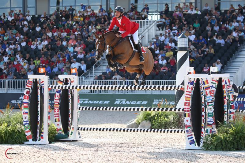 Guerdat earns speed class jumping title at FEI World Equestrian Games
