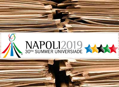 The Commissioner of the 2019 Summer Universiade Gianluca Basile has again talked of the challenges of preparing for the event ©Naples 2019