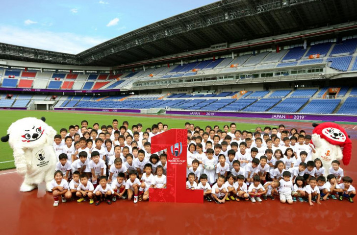 Celebrations have taken place all over Japan to mark one-year-to-go until the Rugby World Cup Japan 2019 ©World Rugby