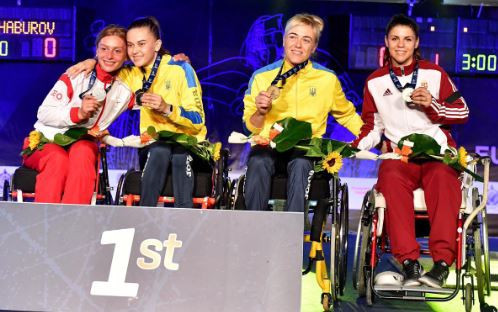 Morkvych secures third sabre A title at IWAS Wheelchair Fencing European Championships