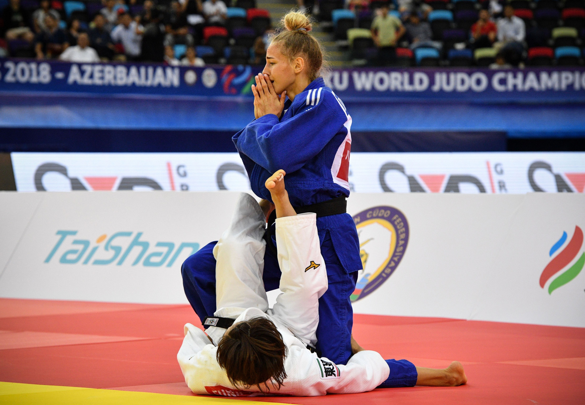 Bilodid becomes youngest IJF world champion with victory in