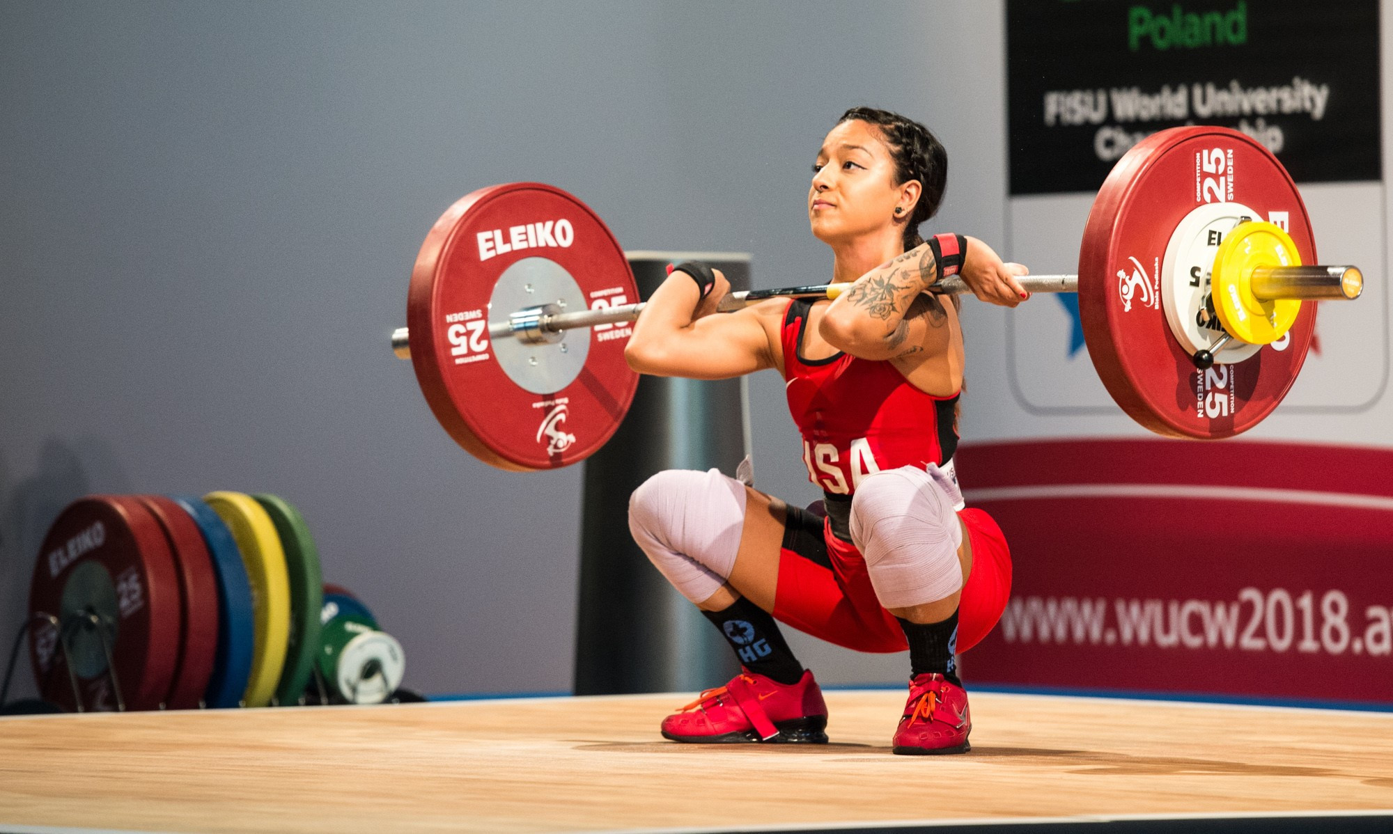 Japan dominate opening day of action at FISU World University Weightlifting Championships