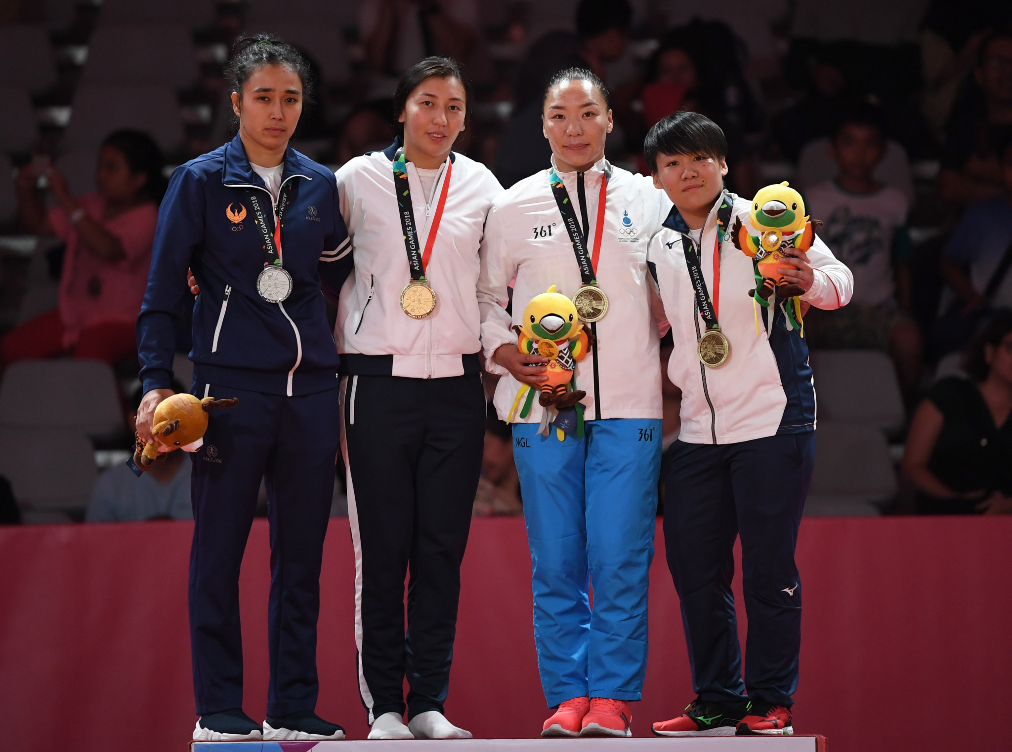 Uzbekistan picked up a total of 70 medals at the recent Asian Games in Jakarta and Palembang, whilst wearing Pres-Jog sportswear ©Getty Images