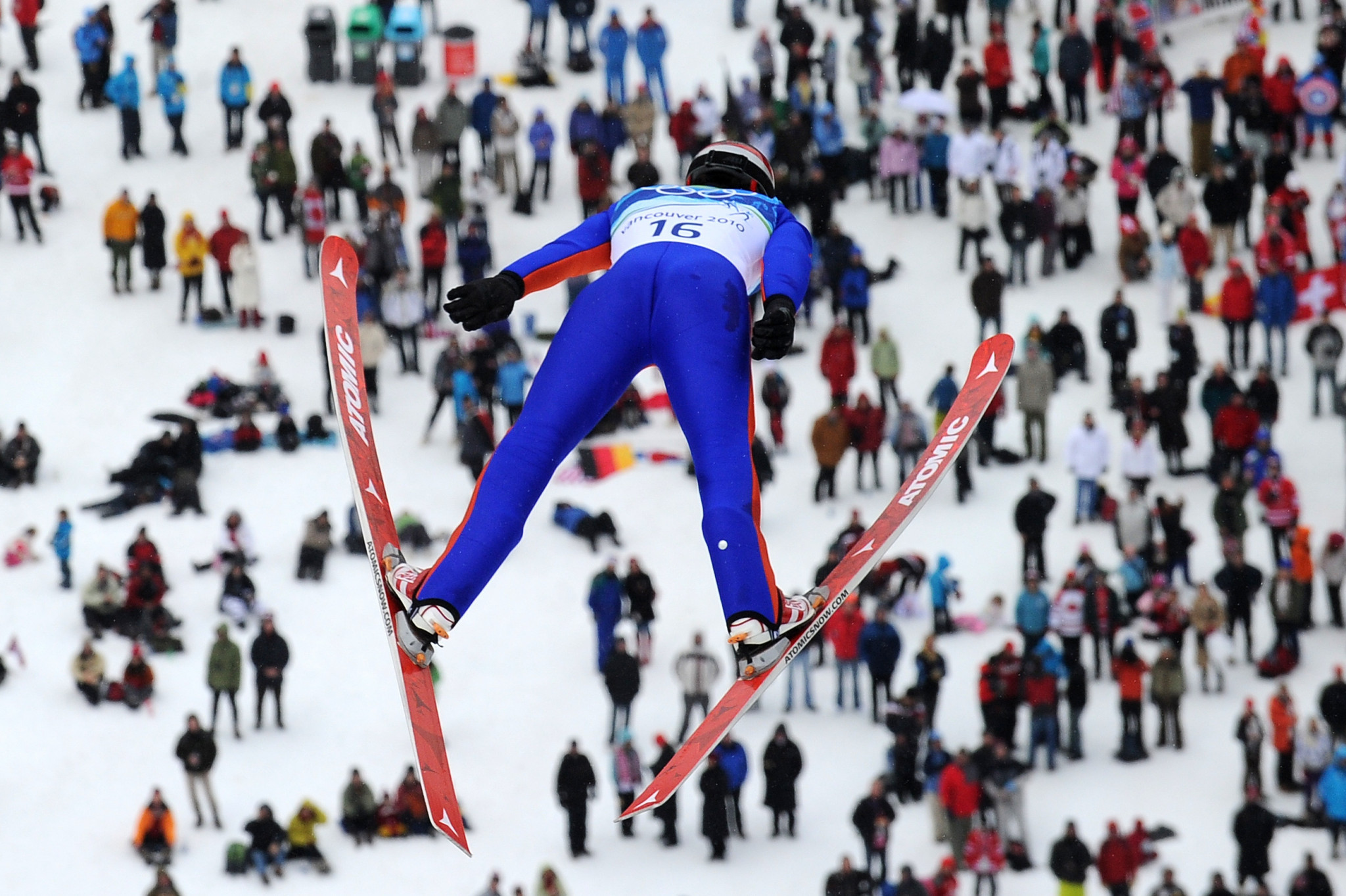 Calgary 2026 proposes re-using the Vancouver 2010 ski jumping venue in Whistler for that sport and Nordic combined rather than the one used when they hosted the Winter Olympics in 1988 ©Getty Images