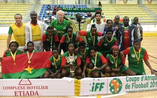 Burkina Faso came out on top in the women's event ©IFF