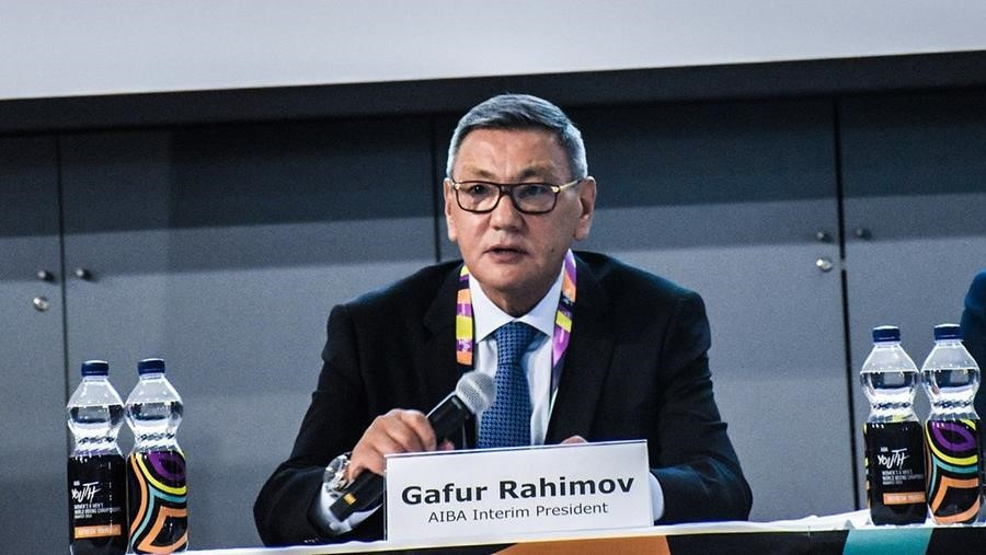 Gafur Rakhimov's candidacy for President of the International Boxing Association has prompted the IOC to warn him standing could jeopardise boxing's place on the Olympic programme ©AIBA